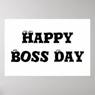 Día de Boss Póster