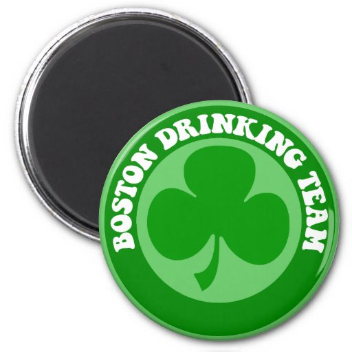 Día de Boston St Patrick Imanes