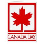 Día de Canadá Felicitación