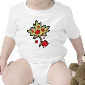 Día de Canadá Trajes De Bebé