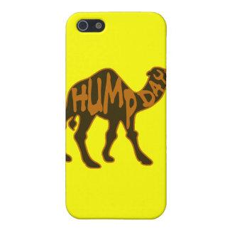 Día de chepa divertido con el camello iPhone 5 funda