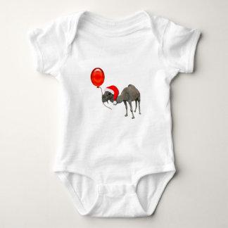 Día de chepa divertido de Santa del camello del Body Para Bebé