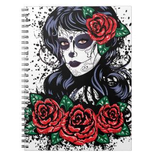 Día de chica muerto libretas