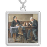 Día de cobro, 1887 collar plateado