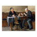 Día de cobro, 1887 postales
