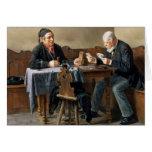 Día de cobro, 1887 tarjeton