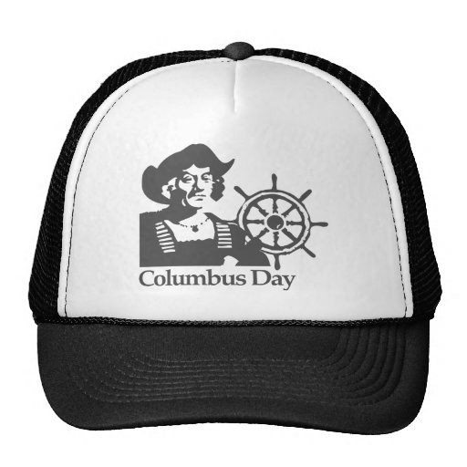Día de Colón Gorro De Camionero
