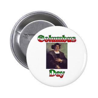 Día de Colón Pin