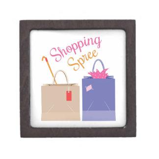 Día de compras cajas de joyas de calidad
