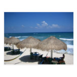 Día de Cozumel en la postal de la playa