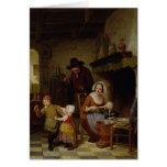 Día de crepe, 1845 felicitación