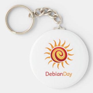 Día de Debian Llaveros