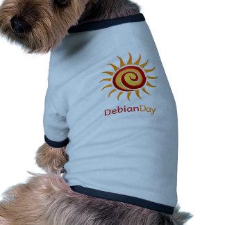 Día de Debian Prenda Mascota