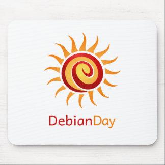 Día de Debian Alfombrilla De Ratón