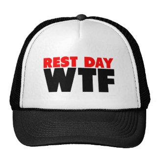 Día de descanso WTF Gorras De Camionero