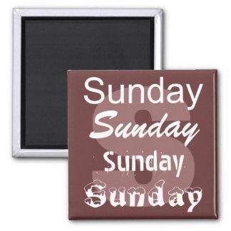 Día de domingo del imán de la semana