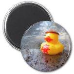 Día de Duckys Imanes Para Frigoríficos