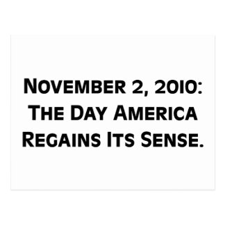 Día de elección 2010 en que América recupera su Postales