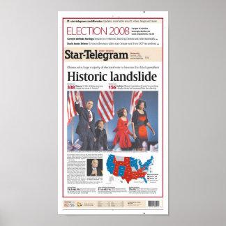 Día de elección del Estrella-Telegrama de Fort Wor Impresiones