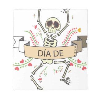 DIA DE Festival of the Dead Notepad