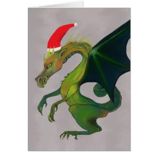 Día de fiesta alegre del dragón tarjeta de felicitación