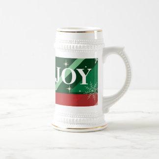 Día de fiesta alegre taza de café
