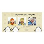 Día de fiesta caprichoso Photocard (plata) de los  Tarjeta Con Foto Personalizada