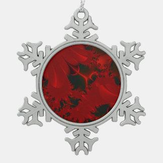 Día de fiesta con clase abstracto rojo adorno