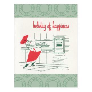 Día de fiesta de la felicidad tarjeta postal