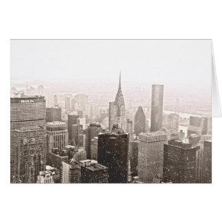 Día de fiesta de New York City Tarjeta De Felicitación