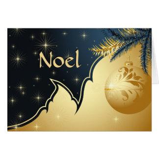 Día de fiesta de Noel Tarjeta De Felicitación