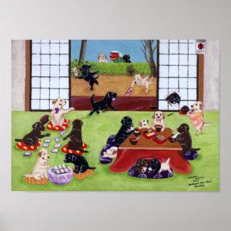 Día de fiesta del japonés de la impresión del arte impresiones