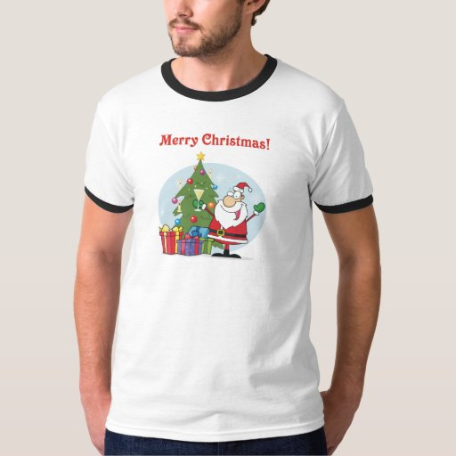Día de fiesta del navidad de Papá Noel y de los Polera