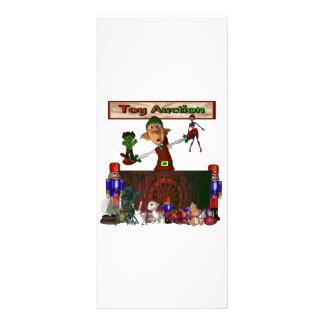 Día de fiesta del navidad del diseño del duende de tarjetas publicitarias a todo color