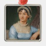 Día de fiesta del navidad del retrato de Jane Aust Ornamento De Navidad