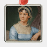 Día de fiesta del navidad del retrato de Jane Ornamento De Navidad