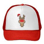 Día de fiesta del navidad divertido santa gorras de camionero