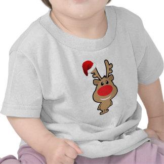 Día de fiesta del navidad divertido santa camiseta
