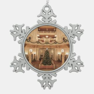 Día de fiesta del navidad en el capitolio del adorno
