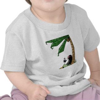 Día de fiesta del pingüino camiseta