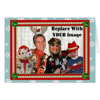 Día de fiesta del Suéter-izer del navidad Tarjeta-