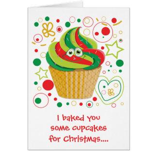 Día de fiesta divertido de Navidad del navidad de Tarjeta De Felicitación