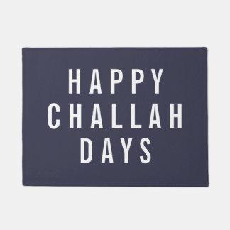 Día de fiesta divertido feliz Chanukah de los días Felpudo