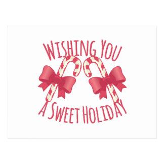 Día de fiesta dulce postales