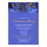 Día de fiesta elegante y clásico del navidad del invitación 12,7 x 17,8 cm