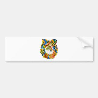 Día de fiesta feliz Colección de la guirnalda Etiqueta De Parachoque