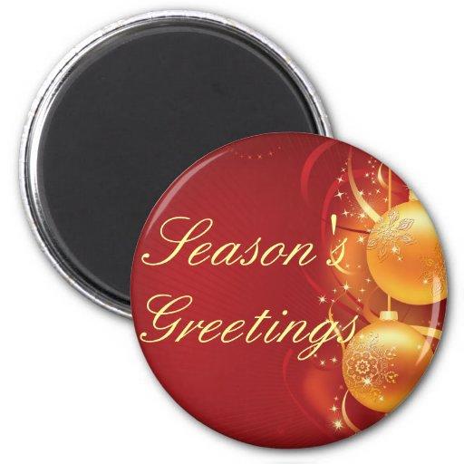 día de fiesta feliz del navidad del feliz imán de frigorífico