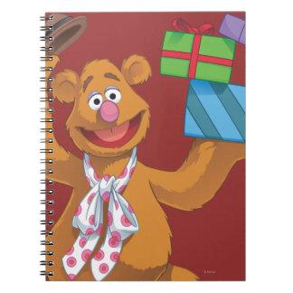 Día de fiesta Fozzie el oso 2 Libros De Apuntes Con Espiral