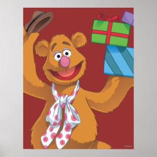 Día de fiesta Fozzie el oso 2 Impresiones