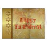 Día de fiesta judío del bishvat feliz del Tu B'Shv Felicitación